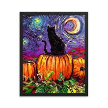 Load image into Gallery viewer, Starry Hallow's Eve Framed Print