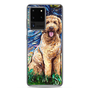 Goldendoodle Night Samsung s20 / Pro / Ultra Phone Case