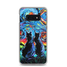 Load image into Gallery viewer, van Gogh's Cats Samsung Case