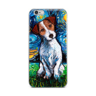Jack Russell Terrier Night iPhone Case
