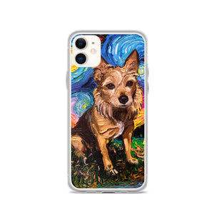 Australian Terrier Night iPhone Case
