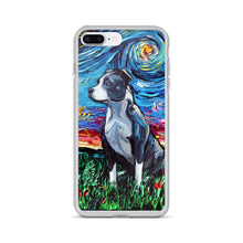 Load image into Gallery viewer, Pitbull Night iPhone Case