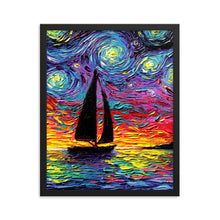 Load image into Gallery viewer, Come Sail Away Framed Print