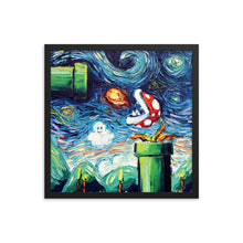Load image into Gallery viewer, van Gogh Never Leveled Up Framed Photo Paper Poster
