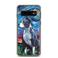 Pitbull Night Samsung Case