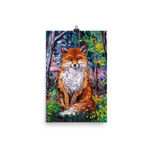 Load image into Gallery viewer, The Red Fox Matte Poster Print