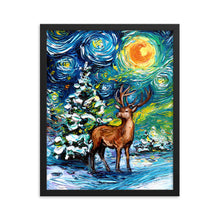 Load image into Gallery viewer, Silent Night Framed Print