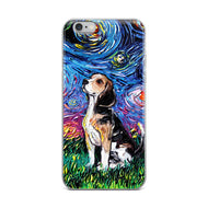 Beagle Night iPhone Case