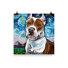 Load image into Gallery viewer, Pitbull, Matte Poster Print