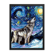 Load image into Gallery viewer, Lupine Night Framed Photo Paper Poster