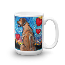 Load image into Gallery viewer, Rhodesian Ridgeback Valentine Coffee Mug
