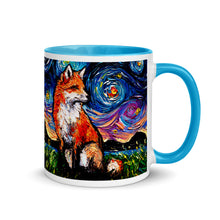 Load image into Gallery viewer, Red Fox Vulpine Coffee Mug