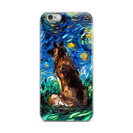 German Shepherd Night iPhone Case