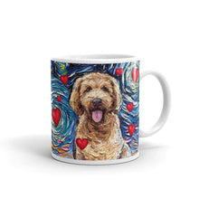 Load image into Gallery viewer, Goldendoodle Night Valentine Mug