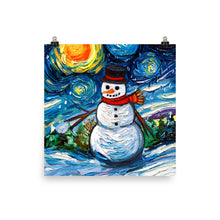 Load image into Gallery viewer, Frosty Night Matte Print