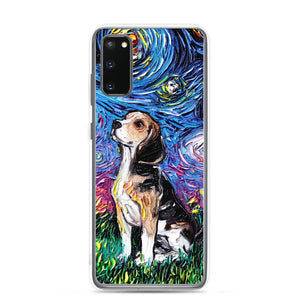 Beagle Starry Night Samsung Case