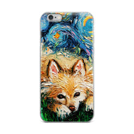 Pomeranian Night iPhone Case