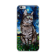 Tabby Night iPhone Case