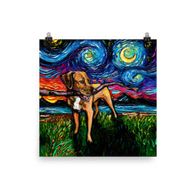 Load image into Gallery viewer, Vizsla Matte Poster Print