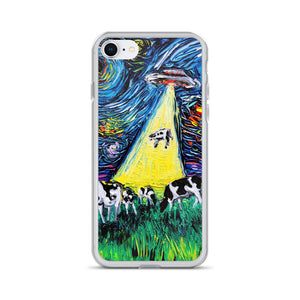van Gogh Was Never Abducted iPhone Case