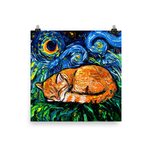 Load image into Gallery viewer, Orange Tabby, Matte Poster Print
