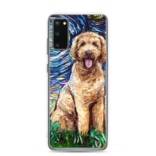 Load image into Gallery viewer, Goldendoodle Night Samsung s20 / Pro / Ultra Phone Case
