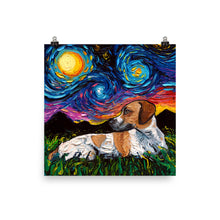 Load image into Gallery viewer, Beagle Mix, Matte Poster Print