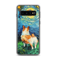 Corgi Night Samsung Case