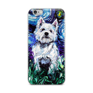Westie Night iPhone Case