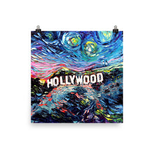 Load image into Gallery viewer, van Gogh Never Saw Hollywood Matte Poster Print