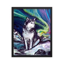 Load image into Gallery viewer, Alaskan Malamute Framed Photo Paper Poster