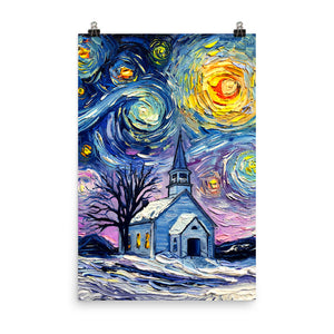 O Holy Night Matte Print