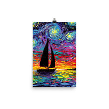 Load image into Gallery viewer, Come Sail Away Matte Poster Print