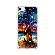 Load image into Gallery viewer, Beagle Night 2 iPhone Case
