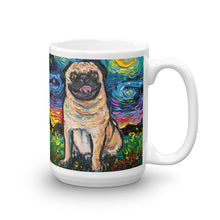 Load image into Gallery viewer, Pug Night, Happy Fawn Coffee Mug