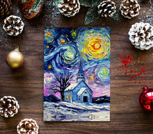 Load image into Gallery viewer, O Holy Night Christmas Greeting Card
