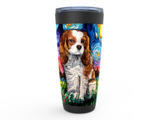 Load image into Gallery viewer, Cavalier King Charles Spaniel Night, Blenheim, Viking Tumbler