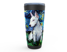 Load image into Gallery viewer, Bull Terrier Night Viking Tumbler