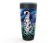 Dalmatian Night Viking Tumbler