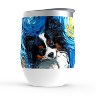 Papillon Night Stemless Wine Tumblers