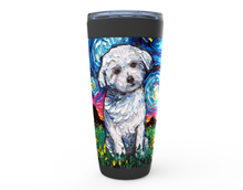 Load image into Gallery viewer, Maltese Night Viking Tumbler