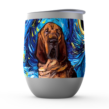 Load image into Gallery viewer, Bloodhound Night Stemless Wine Tumblers