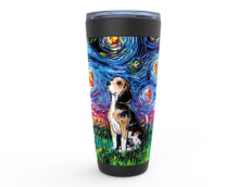 Load image into Gallery viewer, Beagle Night Viking Tumbler