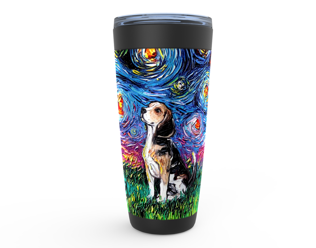 Beagle Night Viking Tumbler