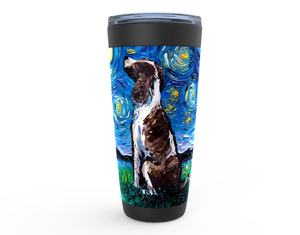 English Springer Spaniel Night Viking Tumbler