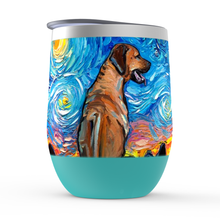 Load image into Gallery viewer, Rhodesian Ridgeback Night Stemless Wine Tumblers