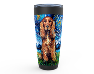 Cocker Spaniel Night Viking Tumbler