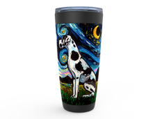 Load image into Gallery viewer, Great Dane Night, Harlequin, Viking Tumbler