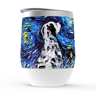 Dalmatian Night Stemless Wine Tumblers
