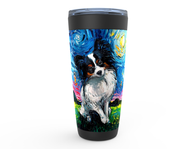Papillon Night Viking Tumbler
